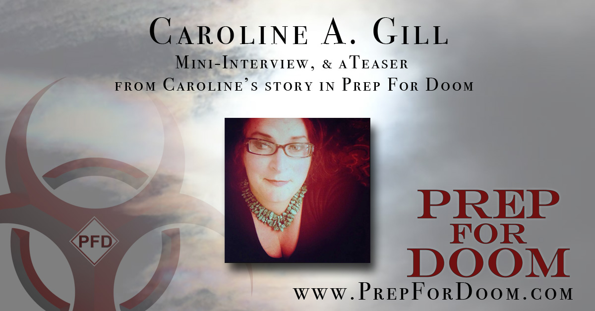 Author Feature Caroline Gill