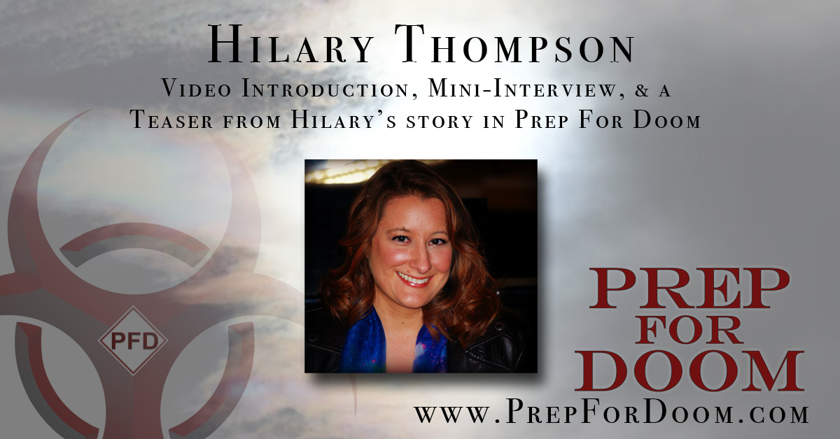 Author Feature Hilary Thompson